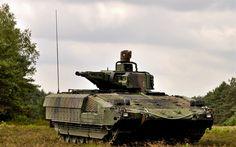 Herunterladen hintergrundbild schützenpanzer puma, die deutschen gepanzerten fahrzeuge der bundeswehr, bundeswehr