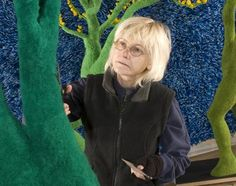 SANDY SKOGLUND:  My hero who I had the honor of meeting at her opening in the 1990s