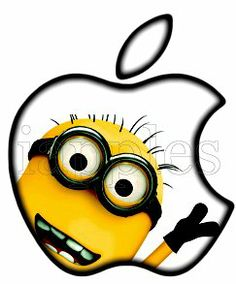 "Yellow & Black Minion GLOWING APPLE - Custom Apple Art - MacBook Decal glowing logo for mac book pro air 11"" 13"" 15"" 17"" LED DECAL iApples,http://www.amazon.com/dp/B00JZ6LDXI/ref=cm_sw_r_pi_dp_QIqDtb0D8FMR02Y4"