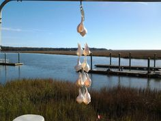 Seashell Wind Chime by ConniesChimes on Etsy