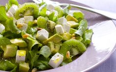 Hedelmäinen Apetina-salaatti Bon Appetit, Salad Recipes, Potato Salad, Potatoes, Koti, Ethnic Recipes, Salad, Potato