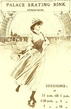 The Palace Roller Skating Rink, Ipswich, circa 1909-1920.