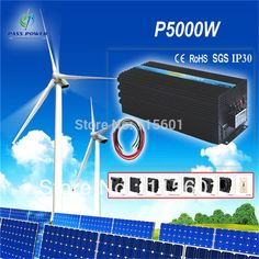 5000W DC 12V TO AC 220V/230V/240V Pure Sine Wave solar Inverter ,CE&ROHS approved, #Affiliate
