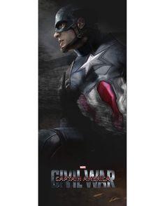Captain America: Civil War by Alexander Lozano *