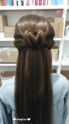 --Video Pin-- Long Hair Hairstyles For Girl Afro Hair Girl, Girl Hair Dos, Natural Hair Braids, Braids For Long Hair, Box Braids Hairstyles, Girl Hairstyles, Hairstyles Videos, Medium Hair Styles, Curly Hair Styles
