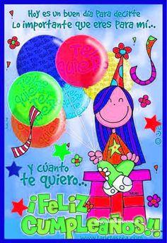 Birthday Cards, Happy Birthday, Emoji, Princess Peach, Birthdays, Marketing, Frases, Happy Bday Wishes, Happy Birthday Text Message