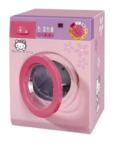 Simba 104767541 – Hello Kitty and Washing Machines Hello Kitty Haus, Hello Kitty Zimmer, Hello Kitty Rooms, Little Girl Toys, Toys For Girls, Little Girls, Minecraft Pixel Art, Minecraft Skins, Princess Toys