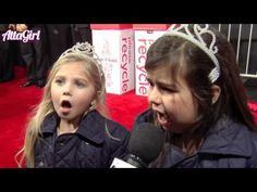 Sophia Grace and Rosie on the 2011 AMA's Red Carpet
