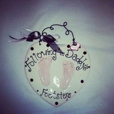 Made in Clay to Last Forever - Footprints