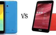 Confronto Tablet - Asus Memo Pad 7 vs LG G Pad 7.0 #asus #lg #tablet #android