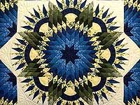 Compass Star Quilt - this is a gorgeous quilt.