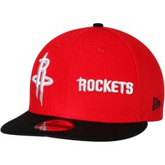 buy popular f7323 dd5ad Houston Rockets New Era Y2K Double Whammy 9FIFTY Adjustable Snapback Hat -  Red Black