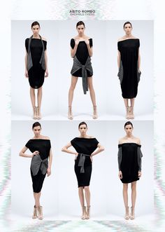 Image of Rhombus Dress /Abito Rombo