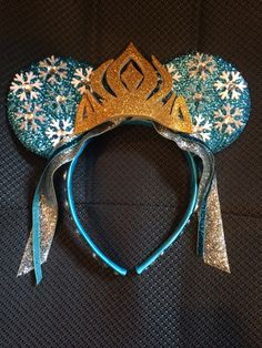 Frozen - Elsa Minnie Mouse Ears