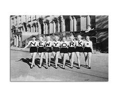 Obraz New York B&W, Canvas...