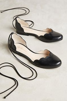 Guilhermina Scalloped D'Orsays - anthropologie.com