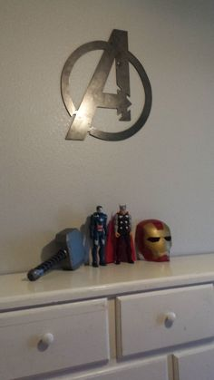 11 Metal Avengers 'A' Wall Art by TheBalmBoutique on Etsy