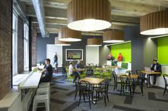 Social CRM company Lithium has moved into a new office located in San Francisco. Designed by Huntsman Architectural Group, the new space consolidates staff into one highly collaborative and attractive work environment.