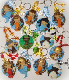 Biscuits, Refrigerator Magnets, General Crafts, Goddesses, Clays, Key Hangers, Manualidades, Spirituality, Porcelain Ceramics