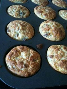 Low Carb Breakfast Muffins. Something for dad who is on low carb diet to help manage diabetes.