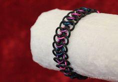 Bisexual Pride Chainmail Bracelet