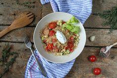 Kuskus je snad nejrychleji připravené kvalitní teplé jídlo, jaké si dokážete představit
