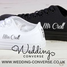 42cbec4757c8 Bride Converse Classic OX Wedding Converse (More Colour Options Available)