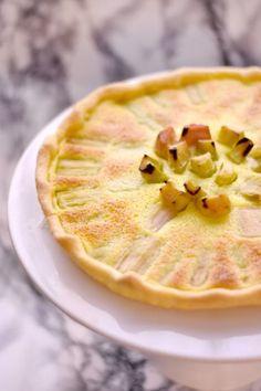dessert recipes easy no bake fruit Rhubarb Recipes, Pie Recipes, Dessert Recipes, Cooking Recipes, Quick Dessert, Simple Dessert, Fruit Dessert, Cooking Hacks, Cooking Videos
