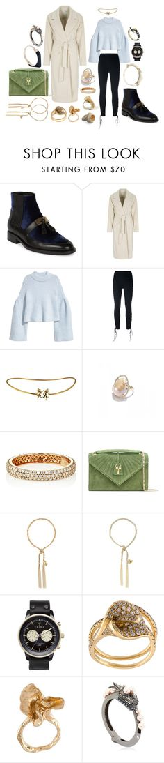 """Some people never go crazy, What truly horrible lives they must lead."" by mymind-is-a-warrior ❤ liked on Polyvore featuring Balmain, Oui, Unravel, Jordan Alexander, STONE, Savas, Carolina Bucci, Triwa, Anita Ko and ALICE WAESE"