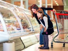 Guy's Grocery Games judge Catherine McCord shares her top 10 ideas to get kids involved in grocery shopping.