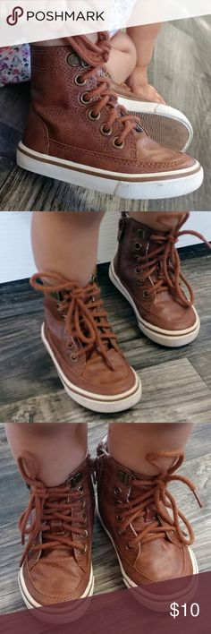 """Cherokee Boots for Boys 4"""" tall 