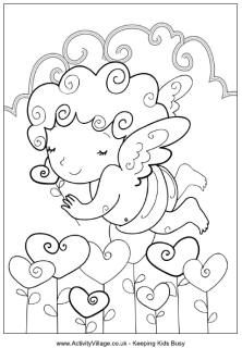 activity village coloring pages & cards