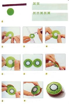 Kiwi fruit tutorial