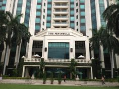 The Peninsula Bangkok- One of Bangkok's most prestigious addresses, the Peninsula offers outstanding service, spacious guestrooms overlooking the river, and countless little luxuries like exotic fruits, and Thai flowers.