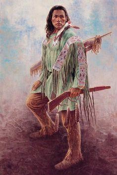 Mystic Warrior ~ Mike C. Poulsen, 1953 (USA)
