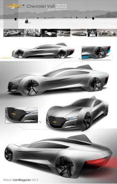 a fun 2025 Chevrolet Volt Concept by Nelson VanWagoner - Design Board