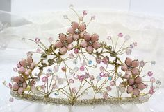Ready to Ship  Louise Heirloom Tiara  The Most by SLCDesignsUK, $350.00