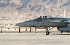 RAAF F/A18 Hornet.About 300 RAAF personnel from Australia deployed to Exercise Red Flag held between 21 Jan – 15 Feb 2014.Conducted on 15,000-square-mile Nevada Test & Training Range,north of Las Vegas in US.Large scale exercise involved crews from forces, including US & UK flying strike,electronic warfare,tactical transport,fighter escort,airborne warning & control & air to air refuelling against dedicated defensive fighter aircraft & an extensive range of simulated surface to air threats.