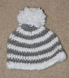 another easy crochet hat
