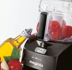 Magimix Le Micro Food Processor - Metal blade for coarse chopping, fine chopping, pureeing and liquidising Blending tool for whipping mayonnaise, mixing sauces and salad dressings Pulse button for optimum control Milkshake Maker, Blend Tool, Diet Recipes, Cooking Recipes, Food Chopper, Health Diet, Food Processor Recipes, Kitchen Design, Coffee Maker