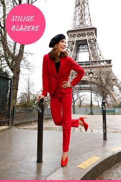 Fantastiske blazere Style, Fashion, Blouse, Swag, Moda, Fashion Styles, Fashion Illustrations, Outfits