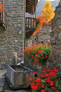 La Salle, Valle d'Aosta, Italy.