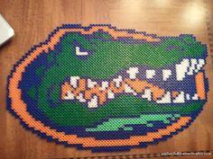 Florida+Gators+logo+by+PerlerByFefifonom+on+Etsy,+$25.00