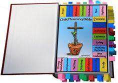 Make a Child Training Bible.