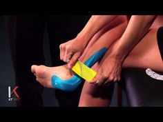 KT Tape: Achilles Tendonitis - Definitely using this for my runs and half marathon!