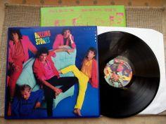 """Rolling Stones Dirty Work LP 1986  mit Innersleeve """"Olga""""  CBS 86321  MINT"""