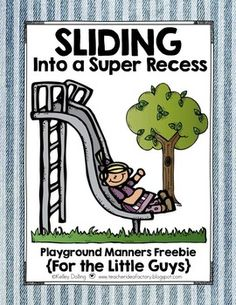 Need a FREEBIE pack to help review recess manners with the little ones?