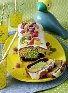 Das Rezept für Bunter Papageien-Kastenkuchen und weitere kostenlose Rezepte auf LECKER.de