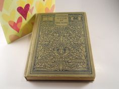 Vintage Book Tennysons Idylls of the King by MissPattisAttic