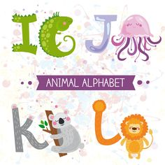 Cartoon animal alphabets deisng vector set 04 - https://www.welovesolo.com/cartoon-animal-alphabets-deisng-vector-set-04/?utm_source=PN&utm_medium=welovesolo59%40gmail.com&utm_campaign=SNAP%2Bfrom%2BWeLoveSoLo